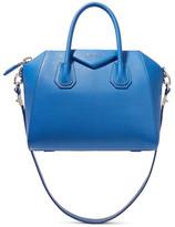 Givenchy Antigona Small Textured-leather Shoulder Bag - Blue