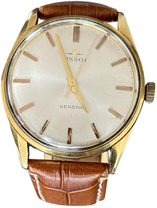 Tissot Gold Gold plated Watches