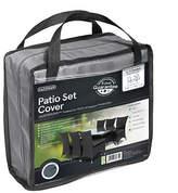 Gardman 6-8 Seater Rectangle Patio Cover Set - Grey
