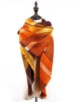 YOYOMA Women Winter Stylish Warm Big Blanket Scarf Gorgeous Wrap Shawl Square