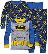 LICENSED PROPERTIES 4-pc. Batman Pajama Set- Toddler Boys 2t-4t