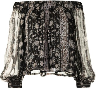 We Are Kindred Gwendolyn silk-blend blouse