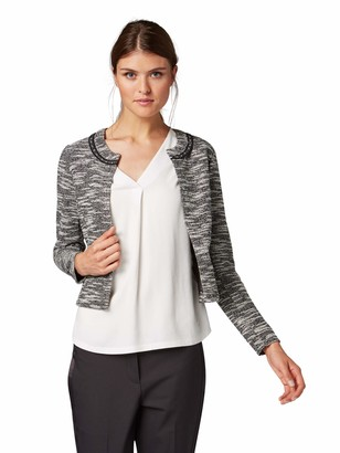 Tom Tailor Casual Women's Femininder Blazer in Boucle-Optik Suit Jacket