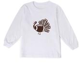 Beary Basics White Football-Turkey Long-Sleeve Tee - Toddler & Boys