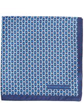 Ermenegildo Zegna Wave-print silk pocket square