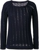 Roberto Collina cable knit jumper - women - Cotton - S