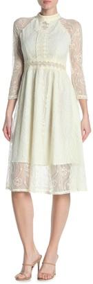 Gracia Floral Lace Maxi Dress