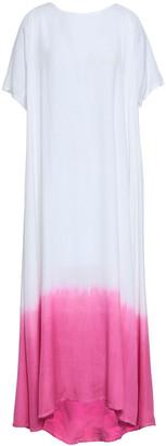 SUNDRESS Alaia Embellished Degrade Woven Maxi Dress