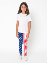 American Apparel Youth Printed Cotton Spandex Jersey Legging