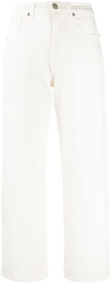 P.A.R.O.S.H. High-Waisted Cropped Jeans