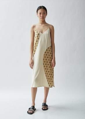 Totême Ferentino Printed Silk Slip Dress