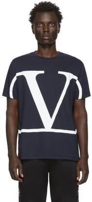 Valentino Navy VLogo T-Shirt