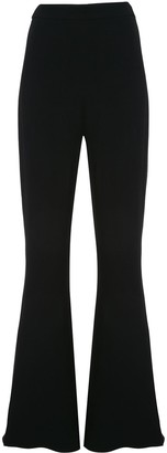 Cushnie extra long flared trousers
