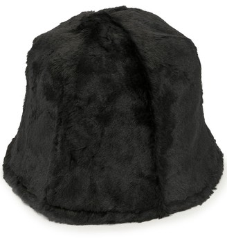 Y's Faux Fur Bucket Hat