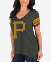 Profile Women's Pittsburgh Pirates Check the Tape Plus Size T-Shirt
