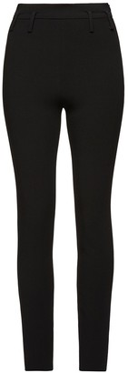 Magda Butrym High Waisted Fitted Ankle Split Legging