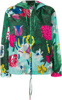 Prada x K-Way lightweight floral jacket