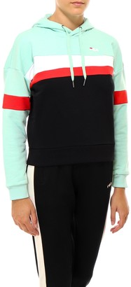 Fila Colour Block Panelled Hoodie