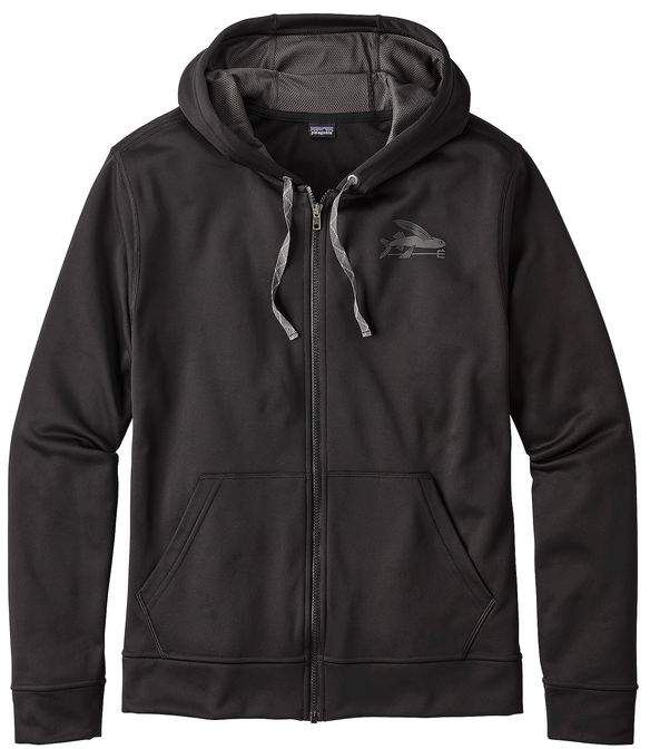 Patagonia Men's Small Flying Fish PolyCycle® Full Zip Hoody