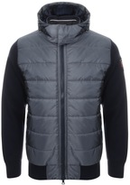 Paul & Shark Paul And Shark Contrast Knitted Jacket Navy