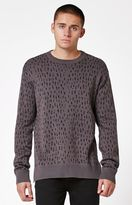 Modern Amusement Delany Cheetah Crew Neck Sweater