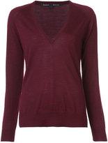 Proenza Schouler V-neck pullover - women - Merino - XS