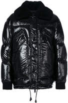 DSQUARED2 high shine padded jacket
