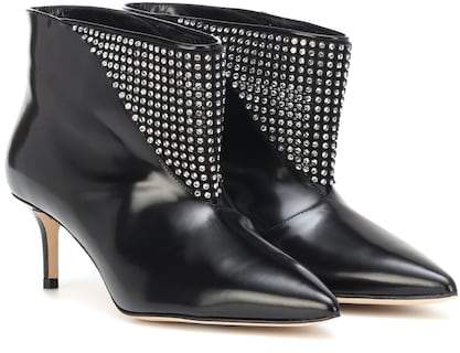Christopher Kane Embellished leather ankle boots