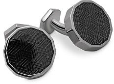 Tateossian Dodecagon Ice Cufflinks