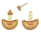 "Satya Jewelry Mandala Moon Jacket Earrings ""Starlit Sky"""