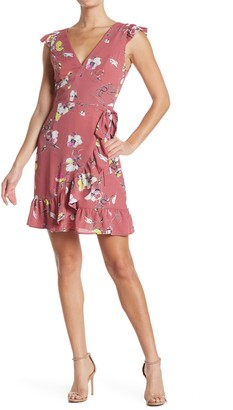 Collective Concepts Floral Ruffled Dress