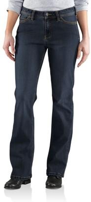 Carhartt Women's Original Fit Denim Jasper Short Jean