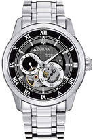 Bulova Men's Mechanical Stainless Steel Watch
