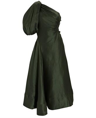 Aje Concept One-Shoulder Midi Dress