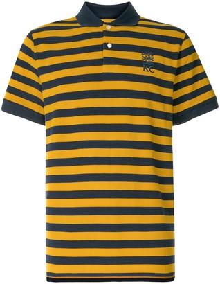 Kent & Curwen Striped Print Polo Shirt