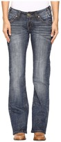 Rock and Roll Cowgirl Riding Bootcut Jeans in Dark Vintage W7-9626