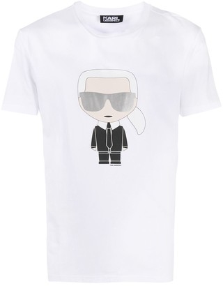 Karl Lagerfeld Paris K/Ikonik crewneck T-shirt