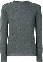Dondup holes detail sweatshirt - men - Merino - M