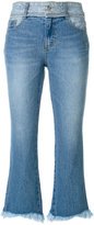 Sjyp cropped flared jeans - women - Cotton - XS