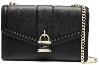 DKNY Ella leather shoulder bag