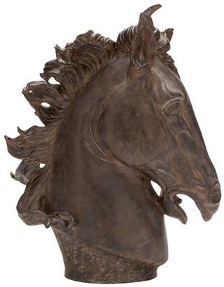 Uma Enterprises 25In Horse Head Sculpture