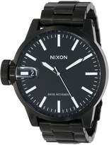 Nixon Men's CHRONICLE SS A198-001 Stainless-Steel Swiss Quartz Watch with Dial