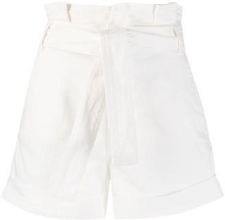 Liu Jo Belted Shorts