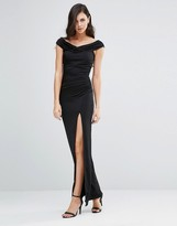 Jessica Wright Sarah Off Shoulder Maxi Dress
