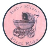 The Well Appointed House Baby's First Ride Wall Plaque