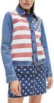 Tommy Jeans Stars And Stripes Trucker Jacket
