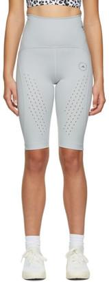 adidas by Stella McCartney Grey TruePurpose High-Waist Shorts