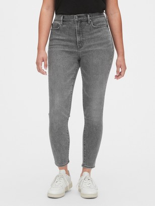 Gap Soft Wear High Rise True Skinny Ankle Jeans with Secret Smoothing Pockets