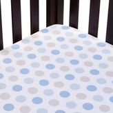 Carter's Mix & Match Dots Fitted Crib Sheet in Blue