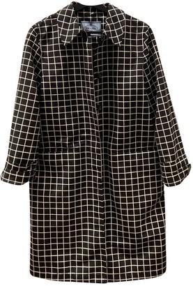 Prada Black Polyester Trench coats
